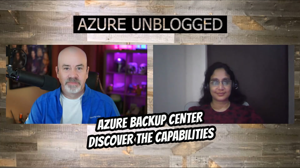 Azure Backup Center - Discover the capabilities