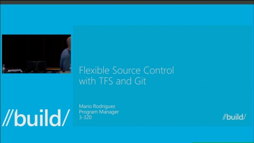 Flexible Source Control with TFS and Git