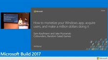 Random Salad Games: How to monetize your Windows app, acquire users, and make a million dollars doing it