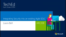 Integrating Security into an Existing Agile SDLC