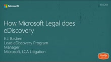 How Microsoft's legal department does eDiscovery