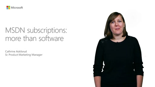 MSDN Subscriptions: More Than Software