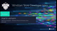 Building Windows Store Apps - Introduction