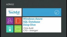 SQL Azure Federations Deep Dive