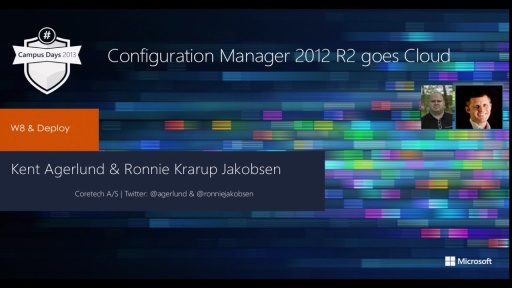 System Center 2012 Configuration Manager R2 – Cloud & Mobile Device Management ready