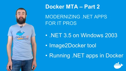 Modernizing .NET Apps with Docker, for IT Pros. Part 2.