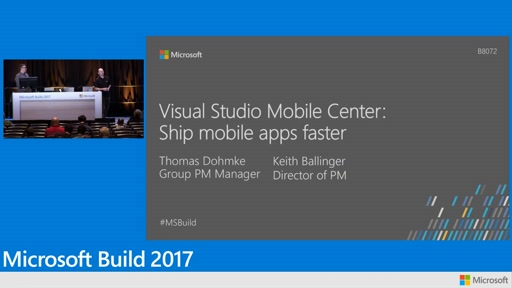 Visual Studio Mobile Center (now Visual Studio App Center): Ship mobile apps faster