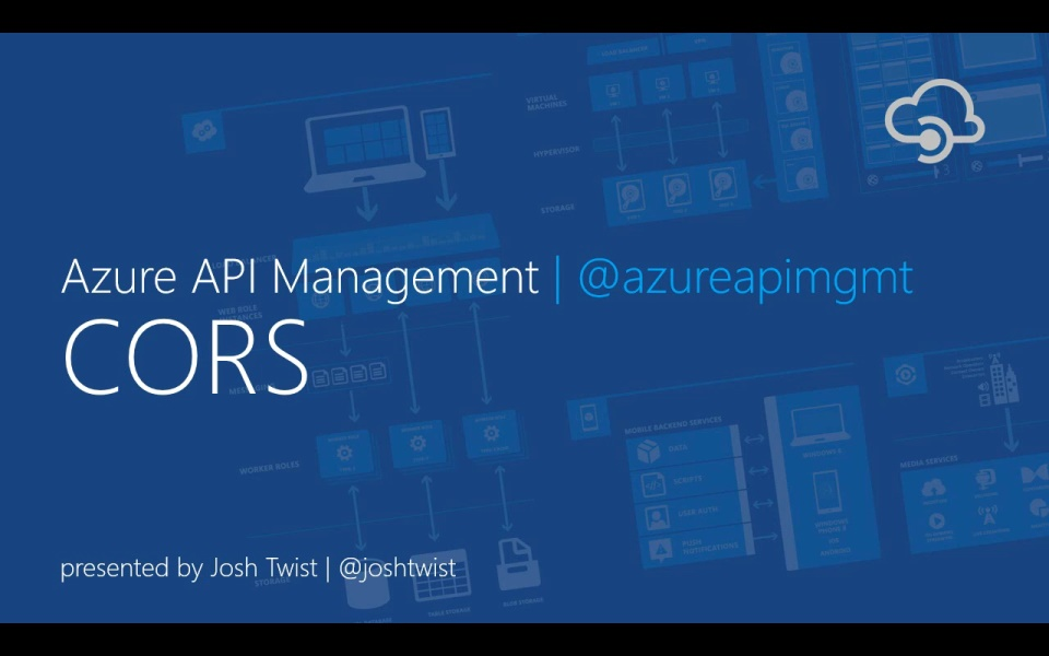 CORS and API Management