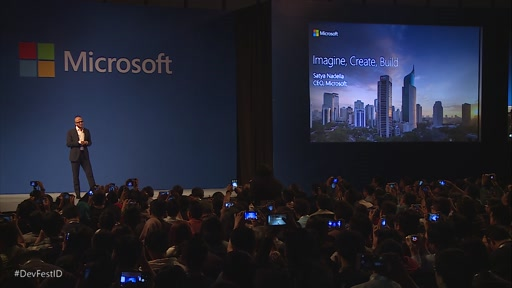 Keynote Speech: Satya Nadella, CEO, Microsoft Corporation