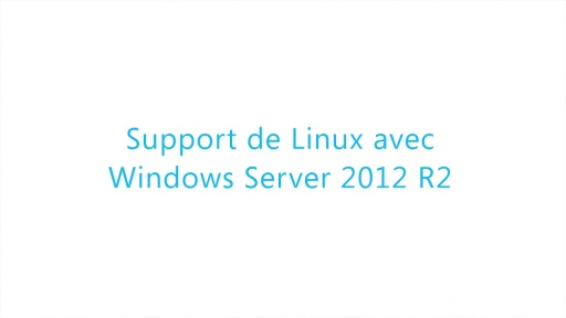 Virtualisation WS 2012 R2 03 - Machines virtuelles Linux