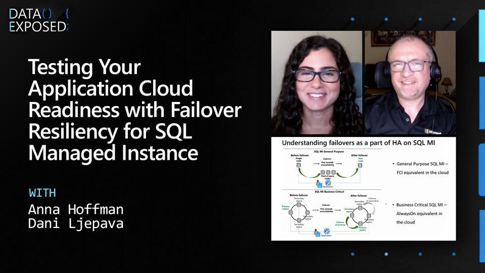 Testing App Cloud Readiness for Failover Resiliency with SQL Managed Instance