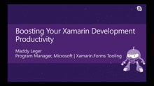 Boosting your Xamarin Development Productivity