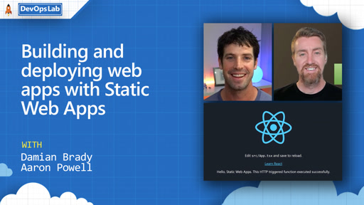 Building and deploying web apps with Static Web Apps