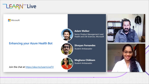Learn Live - Enhancing your Azure Health Bot