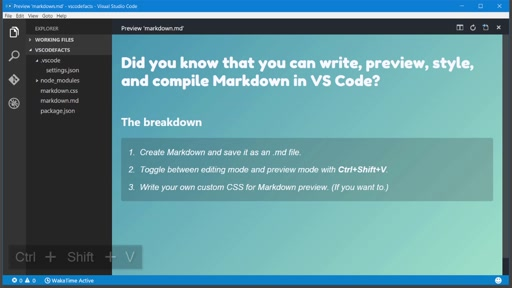 VS Code Speedrun: Markdown