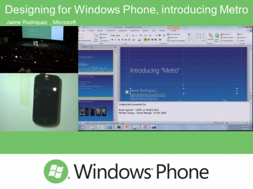 Designing for Windows Phone, Silverlight and tools