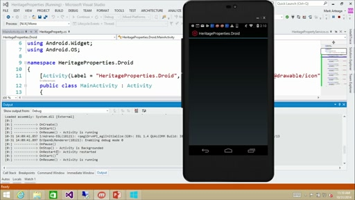Cross-Platform Development with Xamarin & Visual Studio: (03) Android Development with Xamarin & Visual Studio
