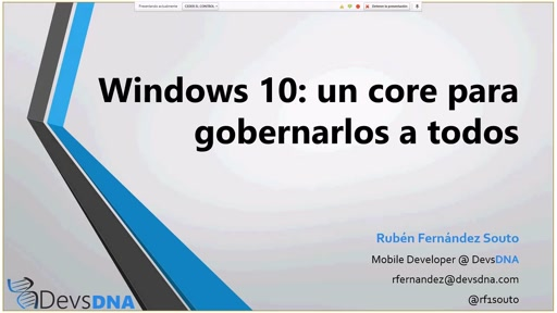 Windows 10: un core para gobernarlos a todos