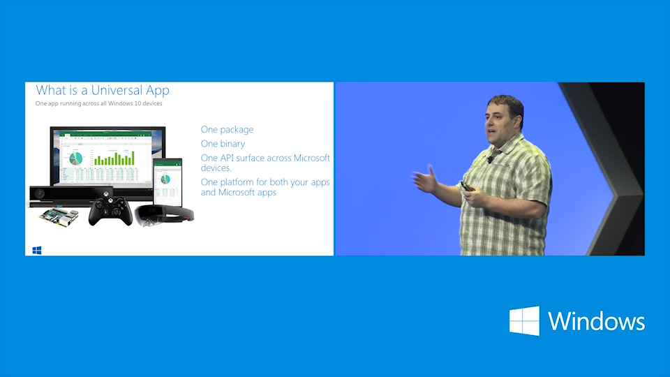 A First Look at Building Windows 10 Universal Apps