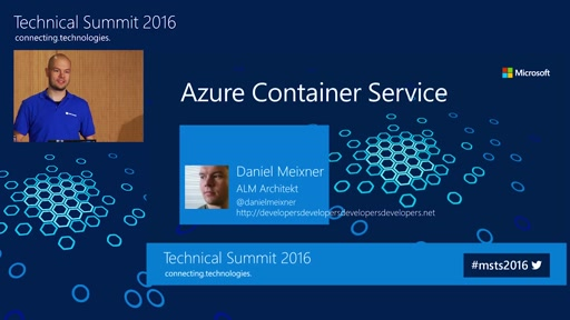 Azure Container Service: Containercluster auf Knopfdruck