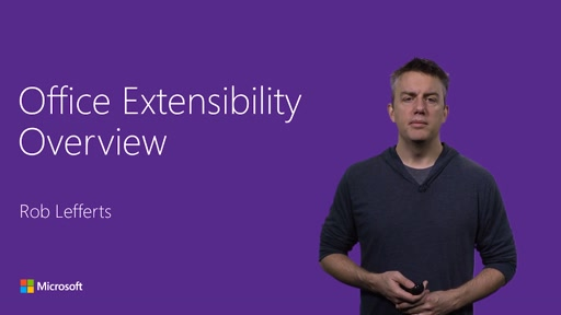 Office Extensibility Overview