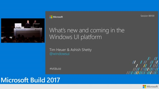 What's new and coming for Windows UI: XAML and composition