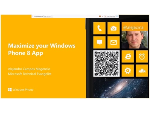 Maximize your Windows Phone 8 App