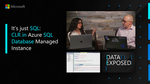 It's just SQL: CLR in Azure SQL Database Managed Instance