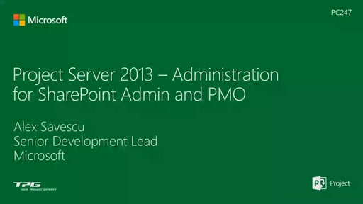 Project Server 2013 - administration for IT Professionals and PMO