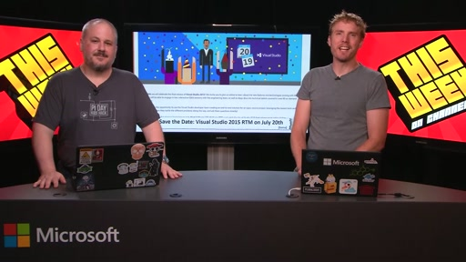 TWC9: Visual Studio 2015 Release Date, Windows 10, Open WWT, Maker.js and more