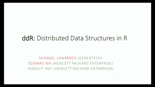 Distributed Computing using parallel, Distributed R, and SparkR