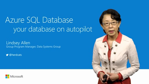 Put your databases on autopilot with Azure SQL Database