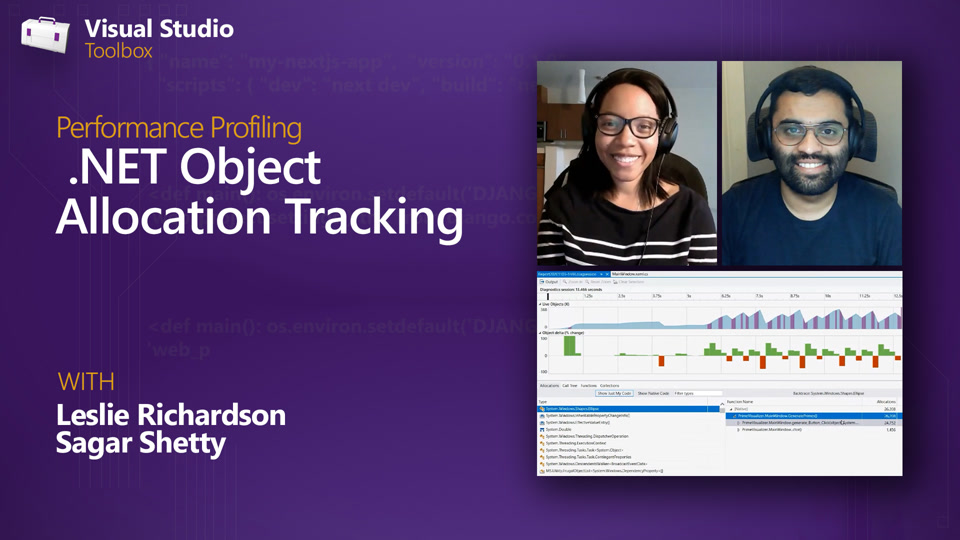 Performance Profiling | .NET Object Allocation Tracking Tool