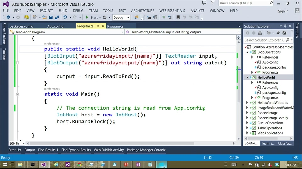 Azure WebJobs 104 - Hosting and testing WebJobs in .NET with the WebJobs SDK with Pranav Rastogi