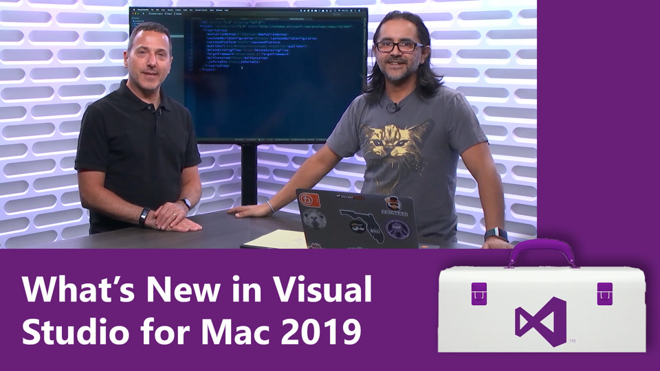 Visual Studio for Mac Overview video