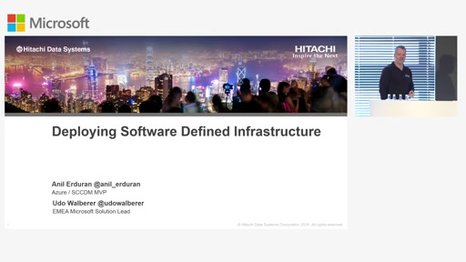 Deploying Software Defined Infrastructure with Hitachi UCP for Microsoft Private Cloud