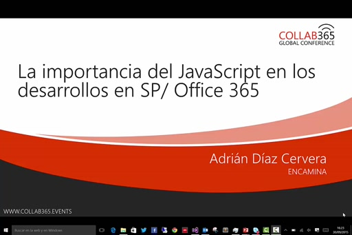 JavaScript y la importancia dentro del desarrollo en SharePoint/Office365/Apps