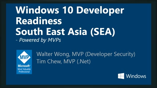 Windows 10 Developer Readiness [Southeast Asia]