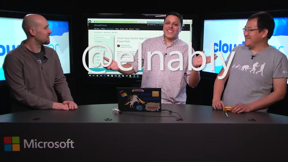Episode 202: Azure App Service Cloning with Ahmed Elnably
