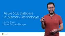 SQL DB In-Memory Technologies