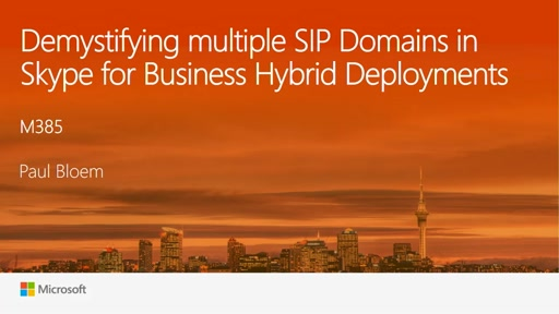 Demystifying multiple SIP domains in Skype for Business Hybrid Deployments