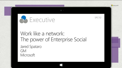 Work like a network: The power of Enterprise Social