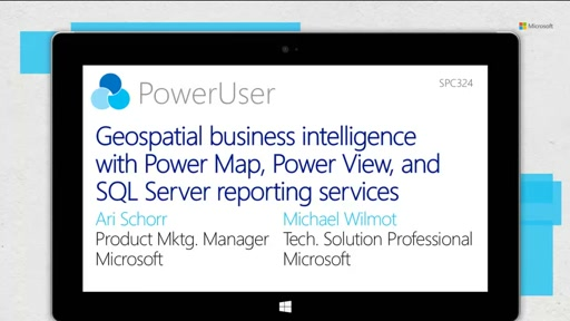 Geospatial business intelligence with Power Map, Power View, and SQL Server reporting services