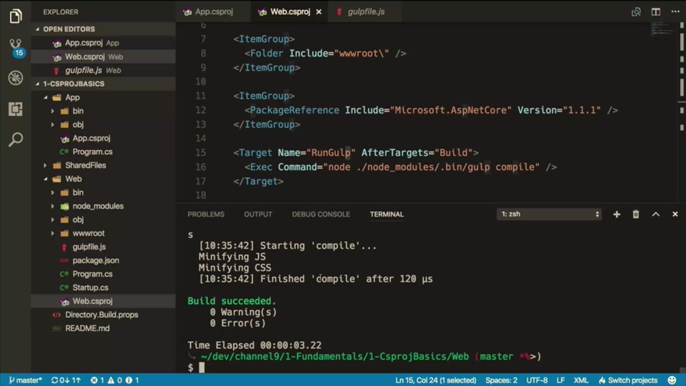 Introduction to MSBuild in  NET Core with Nate McMaster