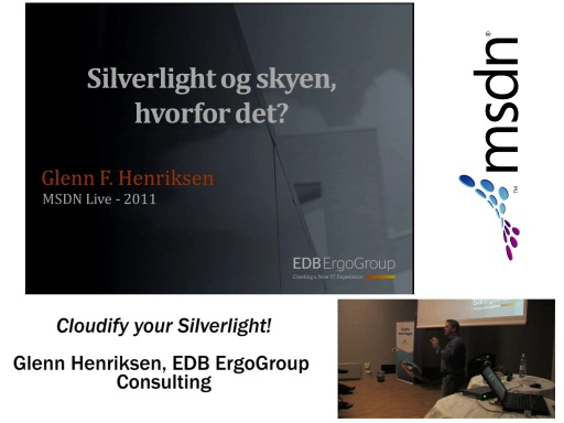 MSDN Live 2011: Sesjon 1 - Cloudify your Silverlight!