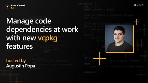 Manage code dependencies at work with new vcpkg features
