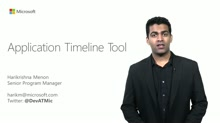 XAML - Application Timeline Tool