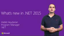 What's New for .NET 2015