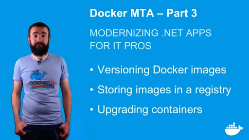 Modernizing .NET Apps with Docker, for IT Pros. Part 3.