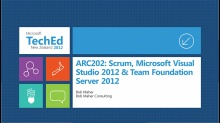 Better Together: Scrum, Microsoft Visual Studio 2012 and Team Foundation Server 2012